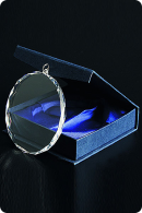 Crystal Glass Medal