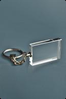 Thin Crystal Keychain