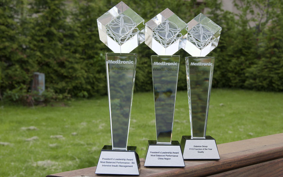 Tall Crystal Awards