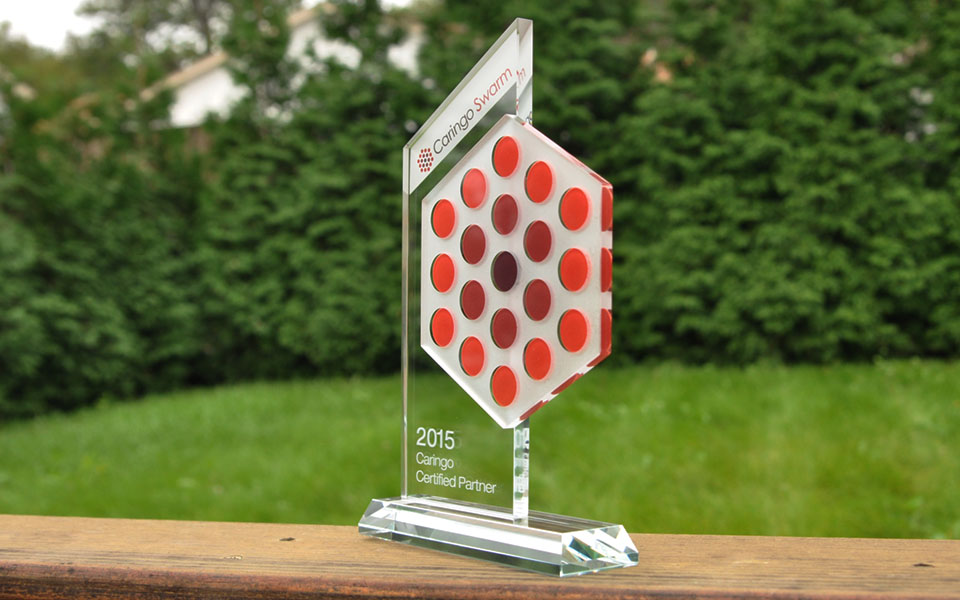 Custom Color Glass Award