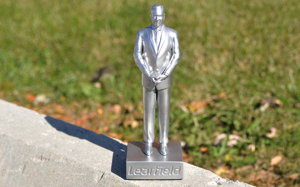 Custom Resin Cast Award