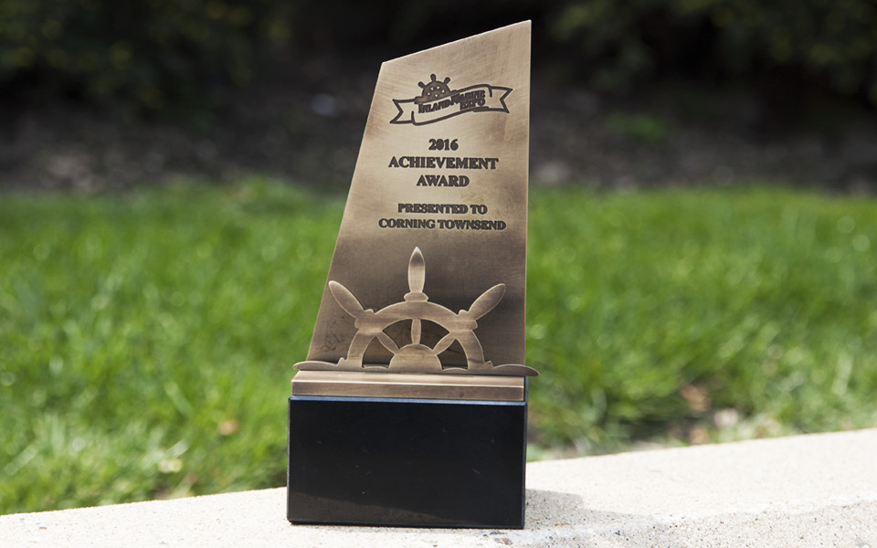 Marine Themed Metal Award